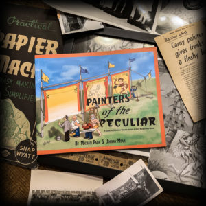 Painters of the Peculiar Sideshow Banner Book