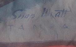 Snap Wyatt Sideshow Banner For Sale
